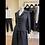Thumbnail: Black Brocade Jacket