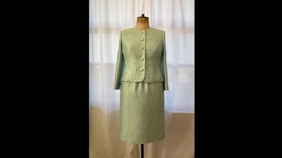 Green Cloque Jacket