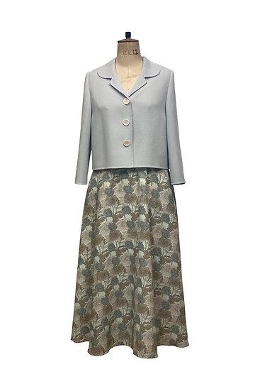 Pale Blue Wool Jacket