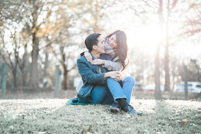 Trung & Thuy Fall Photoshoot