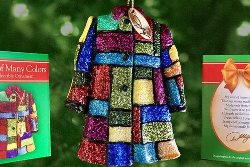 Coat of Many Colours Christmas Tree Ornament