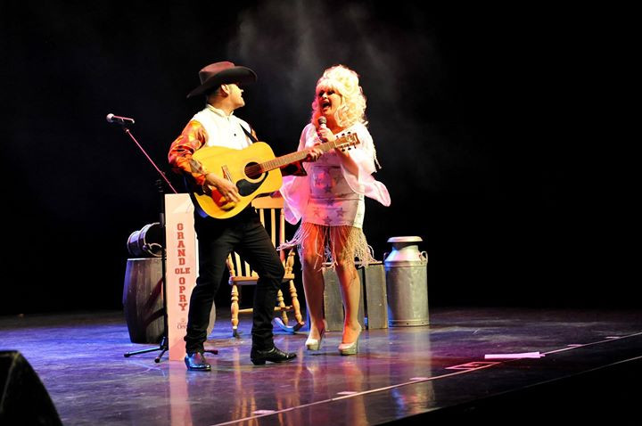 Me having some Dolly and Garth having Fu