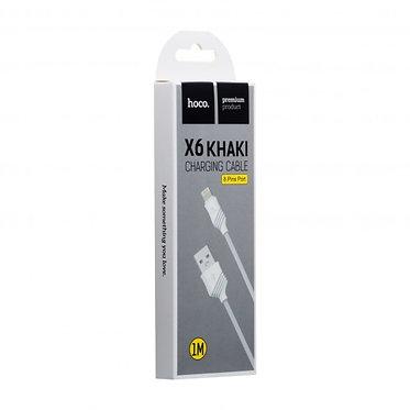 CABO LIGHTNING 1M HOCO X6 KHAKI
