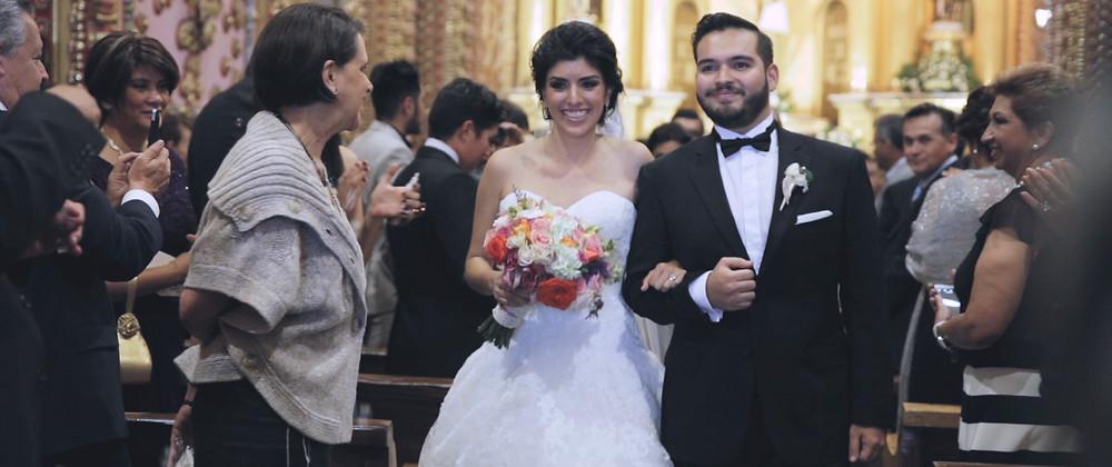   Morelia   Video de boda   Michoacan   Templo de San Diego
