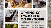 Brød med mesk og øl fra Tya Bakeri & Bryggeri!