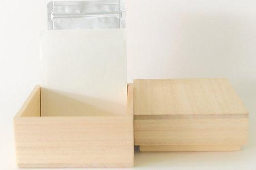 ペット粉骨  桐箱パッケージ(真空パック+アルミ袋)