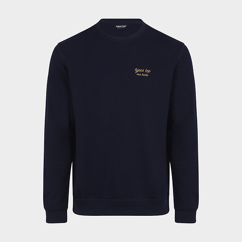 Sweat-shirt brodé | Navy