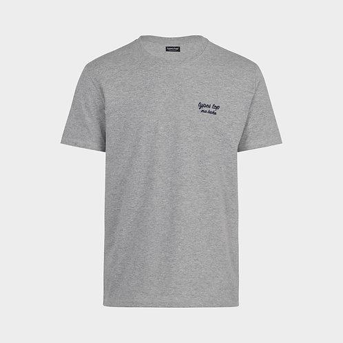 T-Shirt brodé | Gris