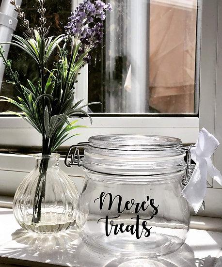 Personalised Jar