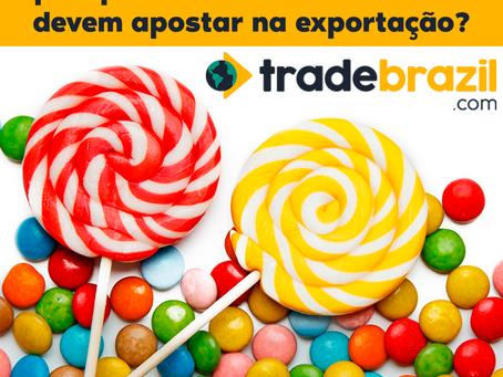 Balas, Chocolates e Amendoim: por que fabricantes brasileiros devem apostar na exportação?