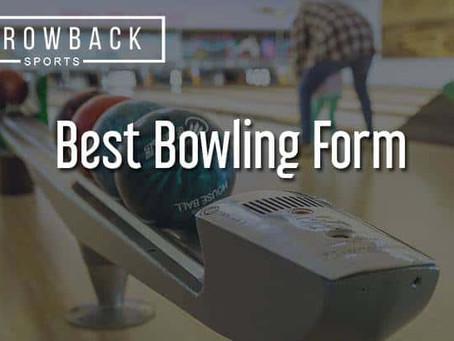 Proper Bowling Form