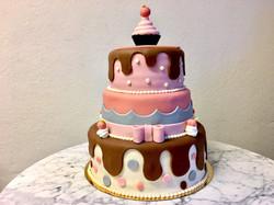 Cupcake-tårta