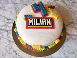 LEGO-tårta Milian