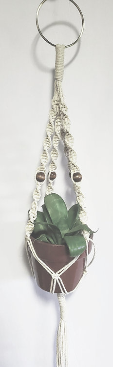 Mini succulent plant hangers Twin-Pack