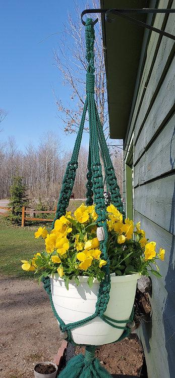 Twin-pack Indoor-Outdoor Standard Macrame Plant Hangers