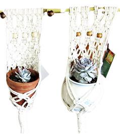 Macrame Succulent Hangers