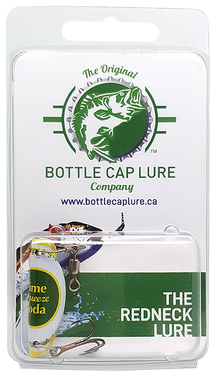 Lime Squeeze Soda Fishing Lure