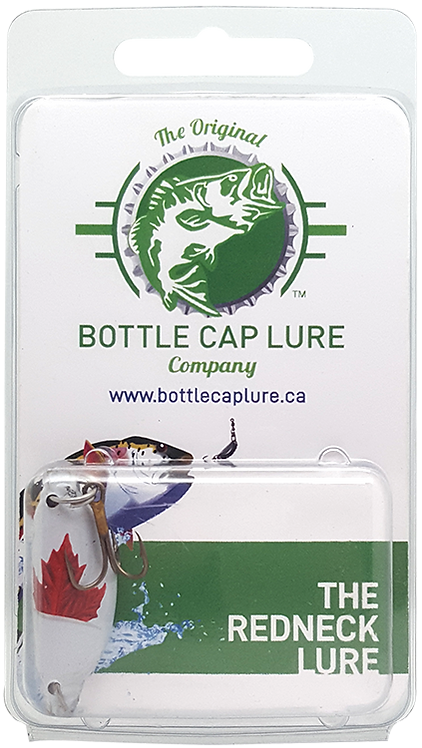 Retail - Molson Canadian Maple Leaf Beer Bottle Cap Fishing Lure