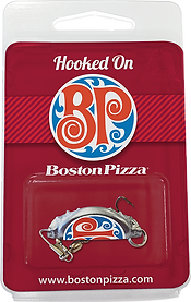 Boston Pizza CustomPrinted Fishing Lure