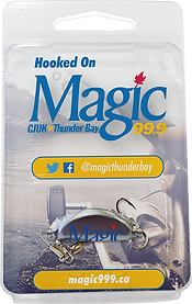 Magic 99 Thunder Ba Radio Station Custom Printed Fishing lure