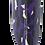 Thumbnail: Retail - Purple and Black Leopard Bottle Cap Fishing Lure
