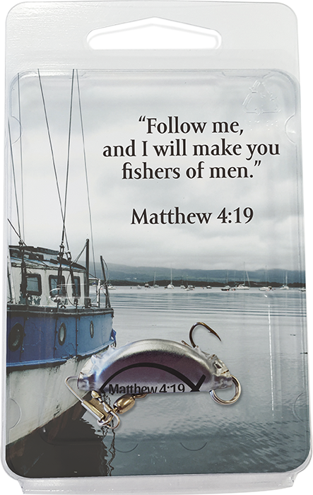 Fishing Lure with Bible Quote