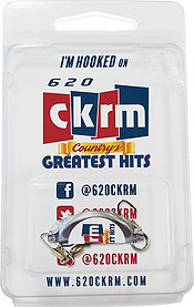 CKRM Radio Sation Custom Fishing Lure