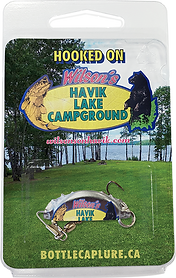 Wilson's Havik Lake Campground Custom Printe Fishing Lures