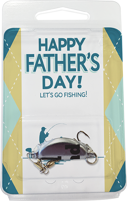 Happy Father's Day Fishing Lures