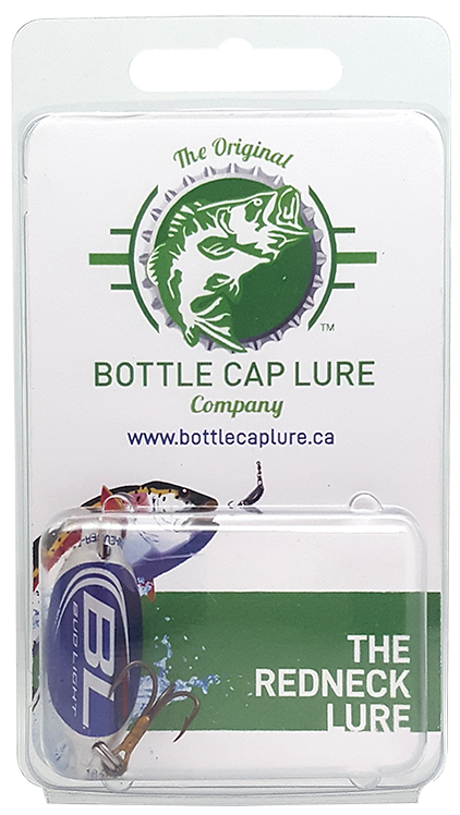 Bud Light Beer Bottle Cap Fishing Lure