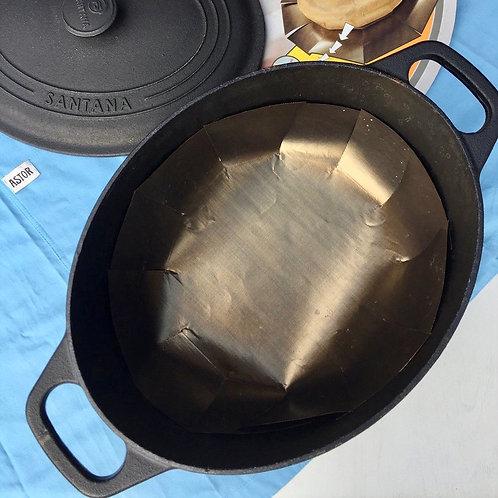 Tapete reutilizável de teflon