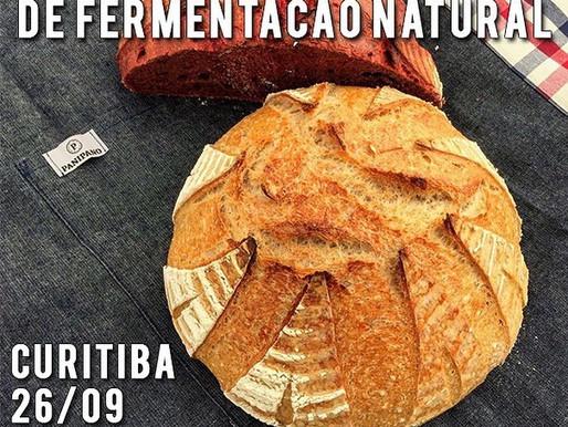 Sempre é dia de Aprender... Oficina de Pães de Fermentação Natural - 26/09