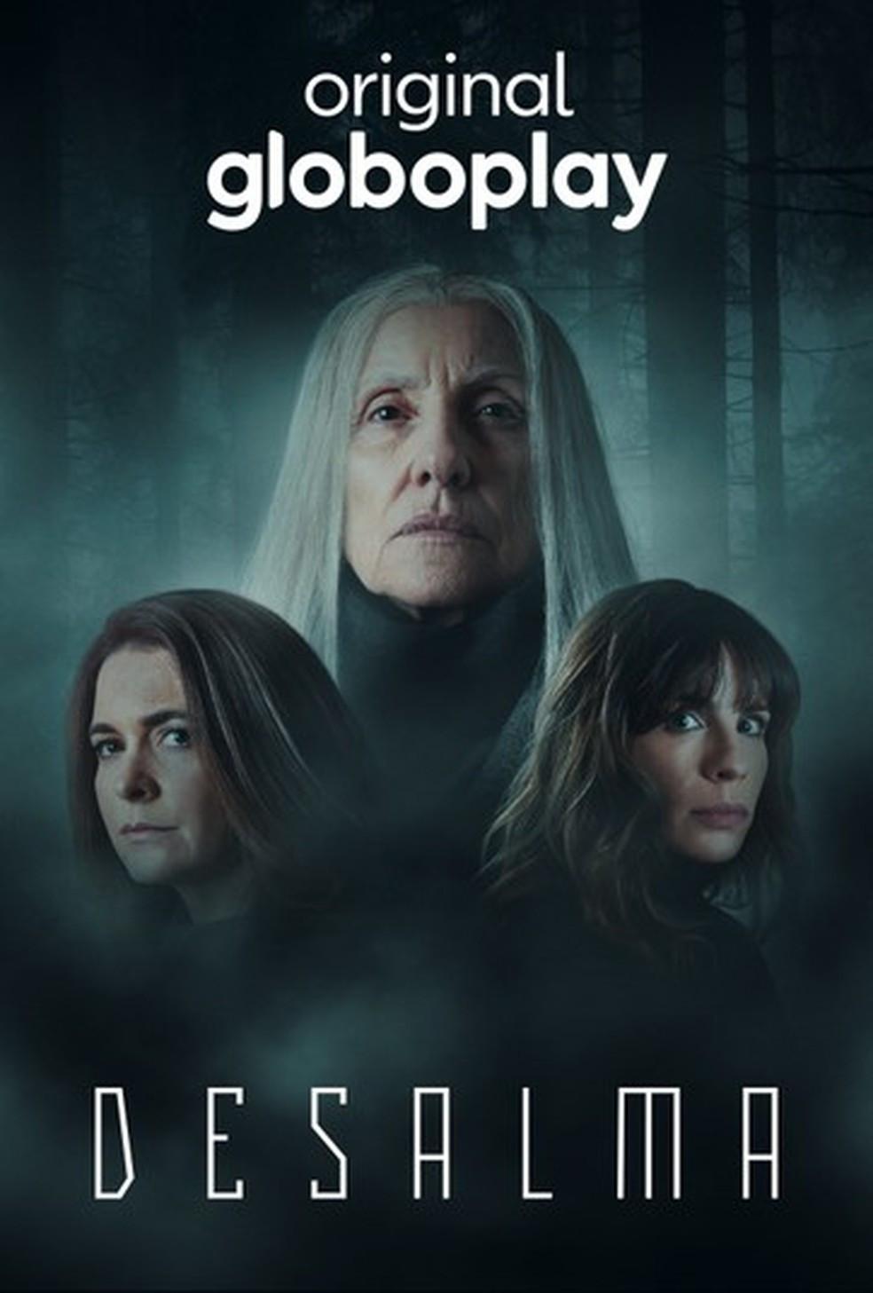 """Poster da série produzida pela Globoplay """"desalma"""""""