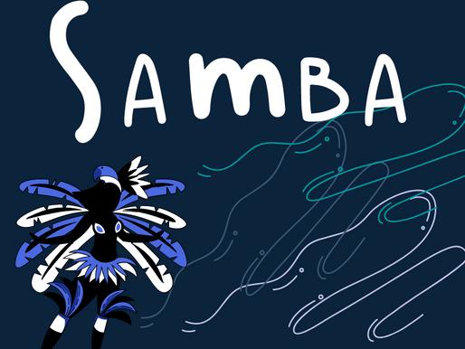 Na letra do samba, por Gabriella Moreira