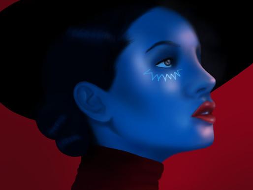 A moça azul, de Thayssa Freitas