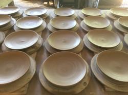 dipping bowls drying