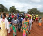 Rural grannies walk for health