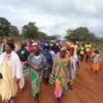 Rural grannies walk for health