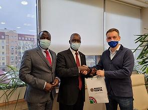 Визит посла Кении в офис ЯНС-Аудит