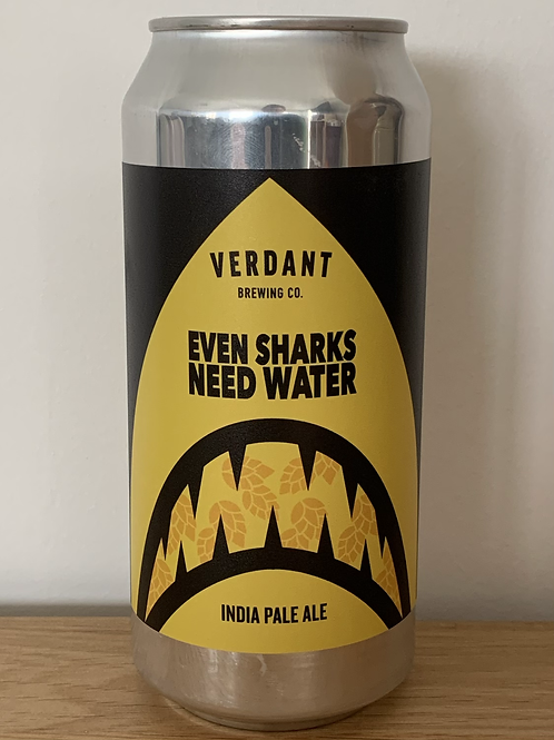 VERDANT BREW CO EVEN SHARKS NEED WATER
