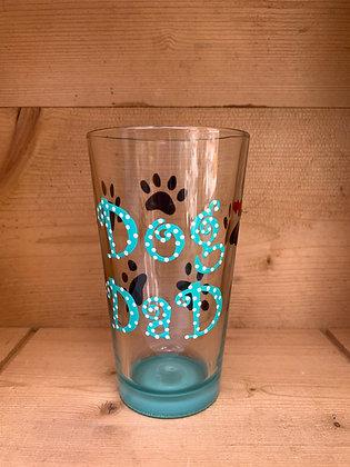 Dog Dad Pint Glass