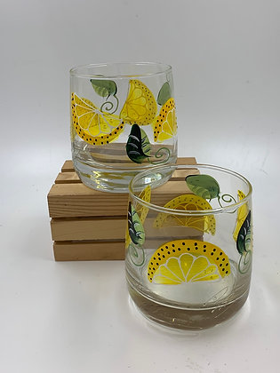 Lemon Highball Glass