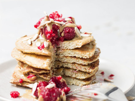Oat Pancakes - Both Ways!
