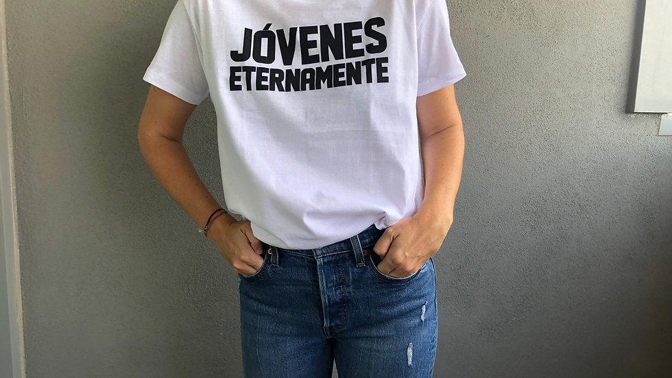 """Camiseta """"Jóvenes Eternamente"""""""