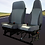 Doppelsitzbank + Fahrersitz (andere Artikel)