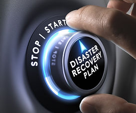 DRP, disaster recovery plan switch butto