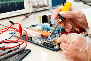 Repair of computer board soldering.jpg
