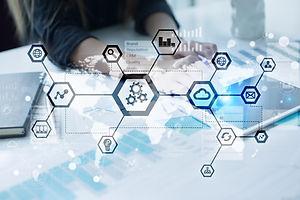 IOT, Automation, industry 4.0. Informati