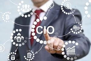 CIO or chief information officer concept