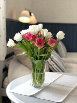 Qui n'aime pas des fleurs...